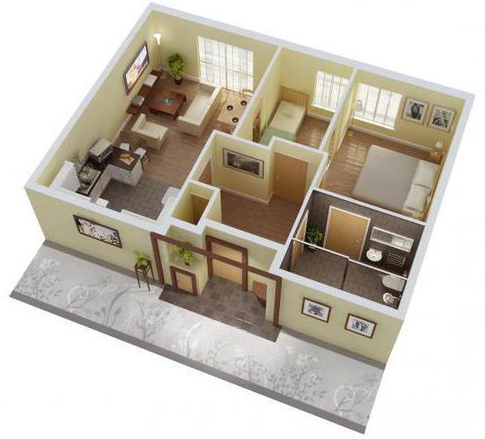 план будинку одноповерхового фото