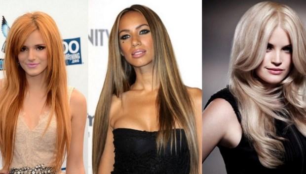 Фото разных стрижек на длинные волосы