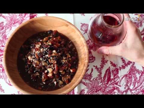 Начинка сухофруктами рецепт