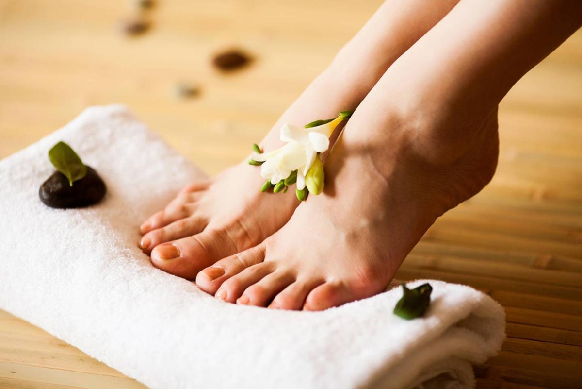 Ухода за ступнями ног в домашних условиях