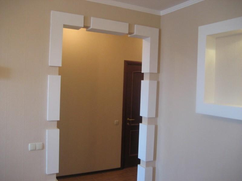 Дверной проем без двери своими руками оригинальные идеи
