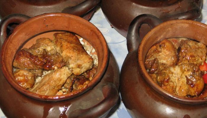 Как приготовить в духовке кашу с мясом