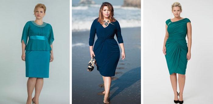 Актуальні моделі сучасних вечірніх суконь для повних жінок мають тенденцію  до м якості і округлості ліній f6820fc706d91