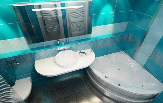Дизайн совмещенной ванной комнаты фото