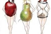 Дієта з фігурою яблуко