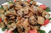 Баклажани в сметані — смачні рецепти тушкованих і смажених овочів з соусом в духовці або на сковороді