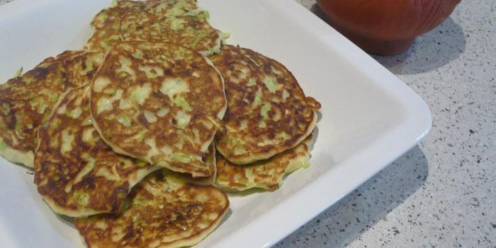 Кабачковые оладьи в духовке рецепт пошагово в