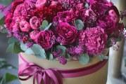 Як зібрати квіти в капелюшної коробки