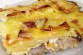 Риба з картоплею в духовці запечена, рецепти приготування з фото