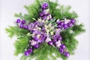 Як зробити новорічну композицію «Зірка» на стіл