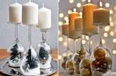 Як можна використовувати келихи для новорічного декору?