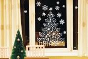 Як швидко приклеїти сніжинки на вікно: 7 простих способів