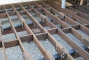Як зробити обрешітку підлоги самостійно