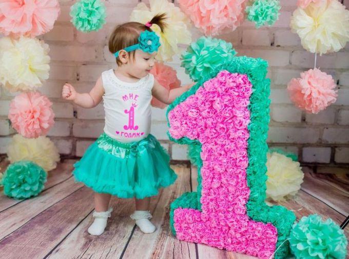 Объемная цифра 3 на день рождения своими руками 10