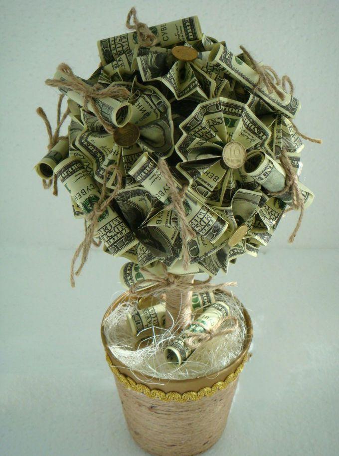 Денежное дерево своими руками стоимость 52