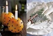 5 ідей прикраси новорічних свічок вкусняшка