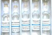 Глюконат кальцію в таблетках і уколах — інструкція по застосуванню і свідчення дітям, вагітним і дорослим