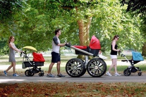 Такие разные детские коляски