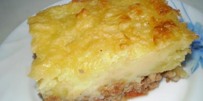 Картофельная запеканка диетическая в духовке