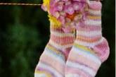 Як зв'язати шкарпетки для новонародженого