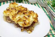 Картопляна запіканка з м'ясом — як приготувати покроково за рецептами з фото в духовці або мультиварці