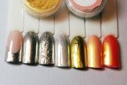 Втирка для нігтів — як зробити дизайн покроково і нанести дзеркальний блиск на звичайний або гель лак