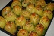 Фарширована картопля — як приготувати за рецептами з фото в духовці або мультиварці
