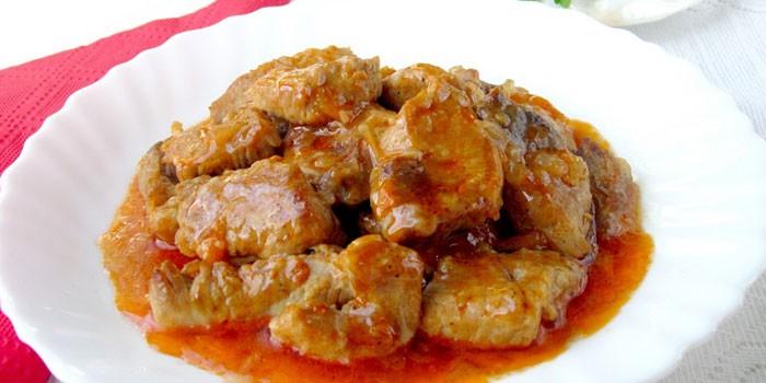 Как приготовить свиную поджарку пошагово