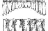 Як пришити шторну стрічку на тюль
