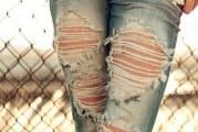 Як порвати красиво джинси