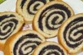 Рулет з маком — як приготувати тісто і смачну начинку з покроковим рецептами з фото