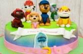 Торт Щенячий патруль для дівчинки або хлопчика — як зліпити фігурки з мастики з фото