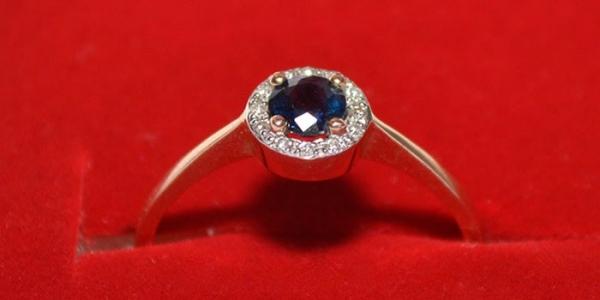 Кольцо с сапфиром из серебра или золота - как выбрать мужское или женское с  фото и 434444a2bedbf