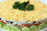 9 рецептів салату Наречена з копченою куркою