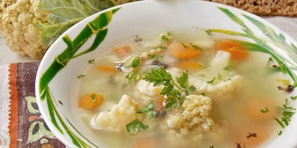 Рецепты с цветной капустой для детей