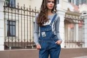 З чим носити жіночий джинсовий комбінезон