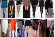 Як і з чим носити різні моделі спідниць
