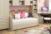 Дитячі меблі для дівчинки дошкільного віку, школярки і підлітка — рейтинг, характеристики і відгуки