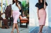 З чим носити рожеву спідницю: поради стилістів