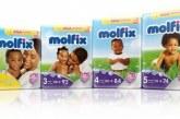 Дитячі підгузники «Молфикс»: відгуки, виробник, фото