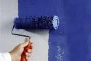 Як фарбувати шпалери під фарбування