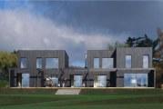 Проект будинку на двох господарів з окремими входами. Проекти будинків-дуплексів