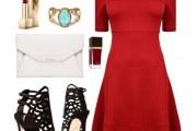 Кращі аксесуари до червоного плаття: фото та поради