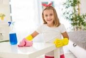 Як навчити дитину прибиратися будинку