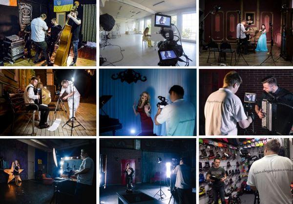 съёмка музыкальных клипов киев