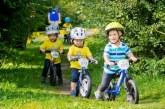 Як навчити дитину кататися на беговеле